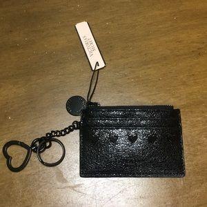Victoria's Secret card holder key chain NWT